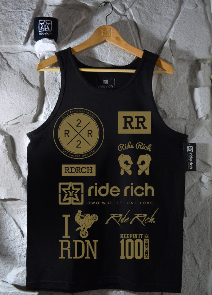 Branded Tank View 1 - Motorcycle Tank Top