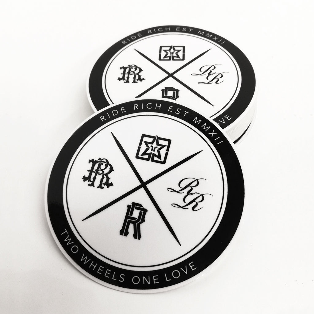 RR Official Seal V2 Vinyl Sticker {Medium}