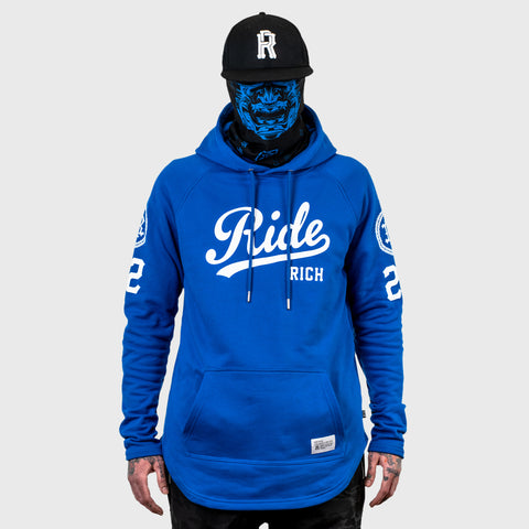RR Squad Scoop Pullover Hoodie {Blue}