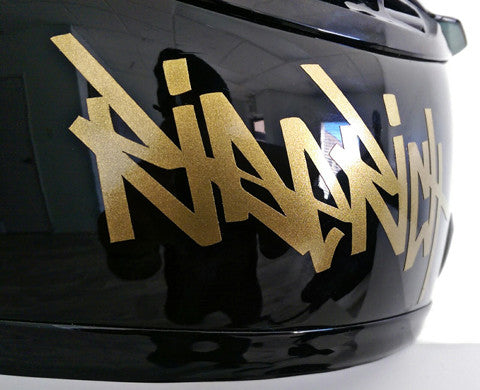 Ride Rich Tag Vinyl Decal Custom Motorcycle Decals