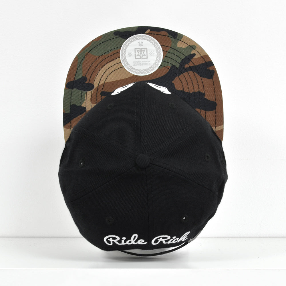 Rep Life On Two Strapback {Camo} 3