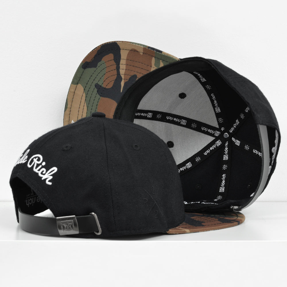Rep Life On Two Strapback {Camo} 4