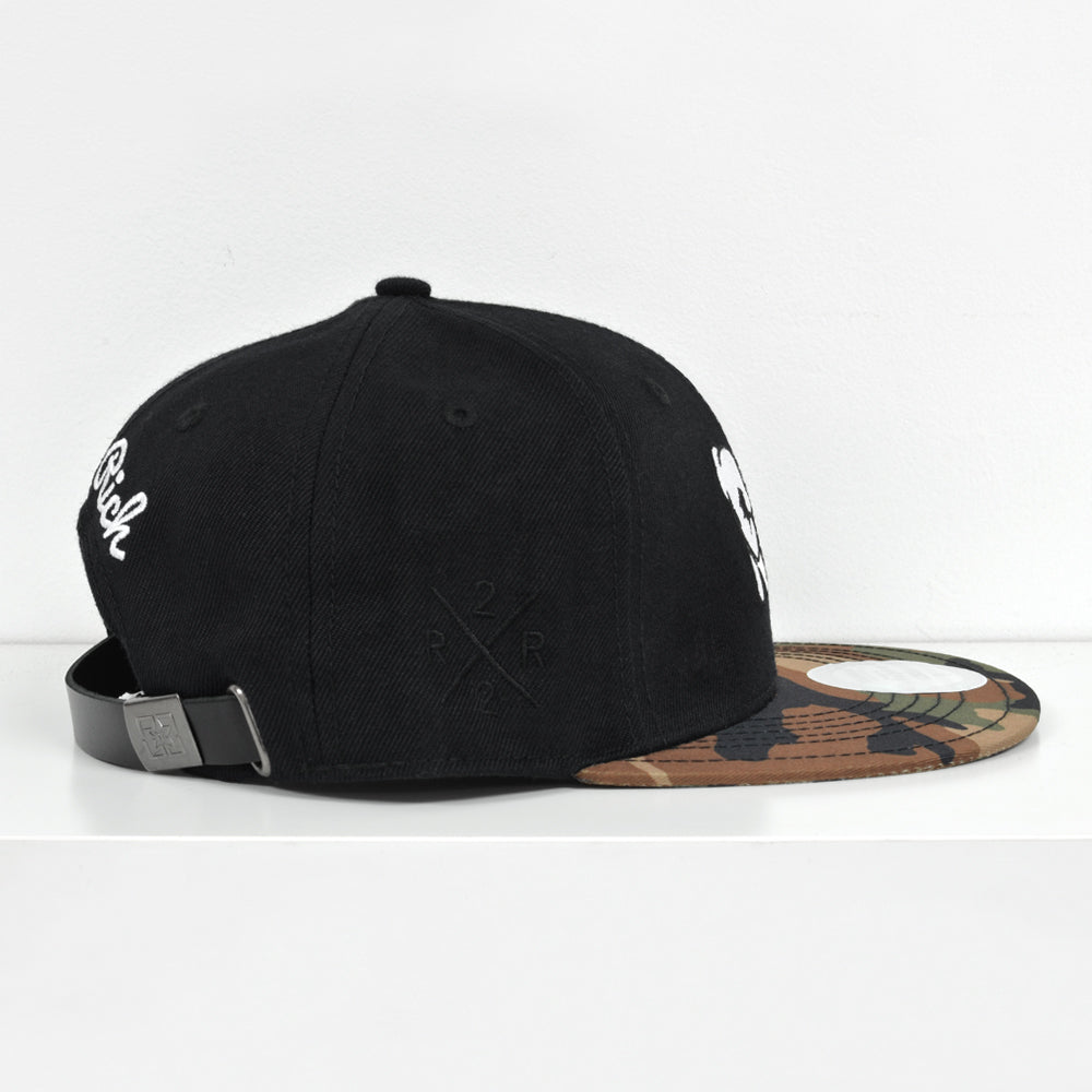 Rep Life On Two Strapback {Camo} 5