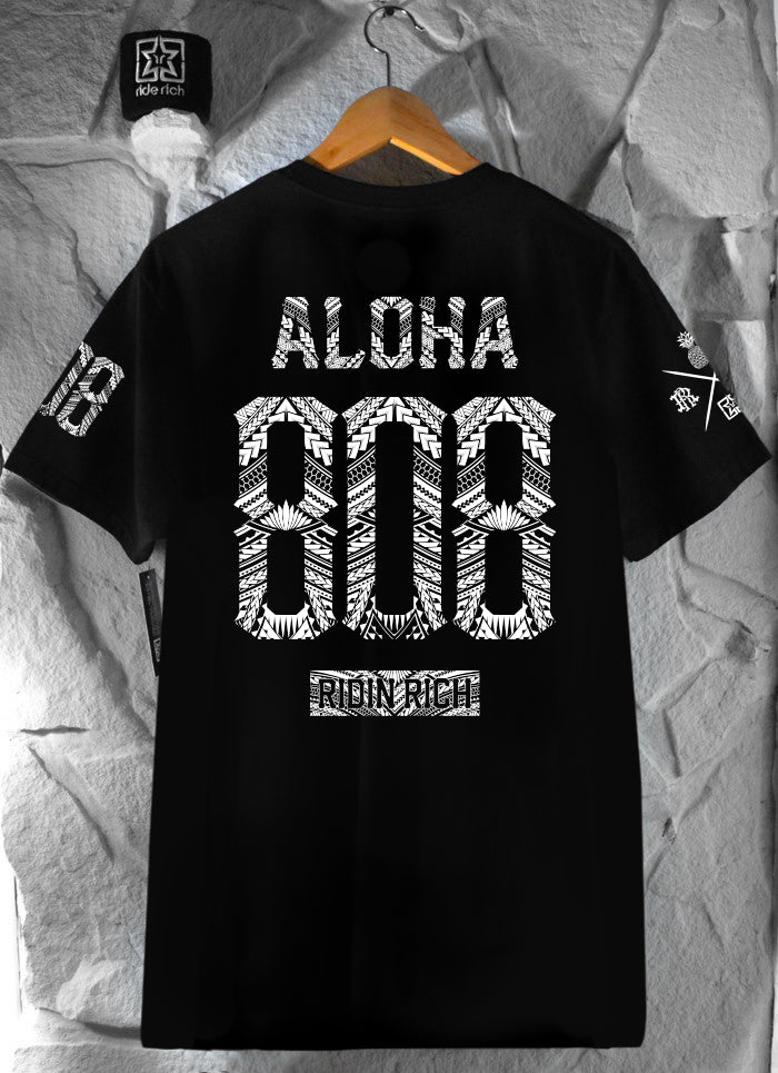 Home Grown 808 Edition Tee {Black}
