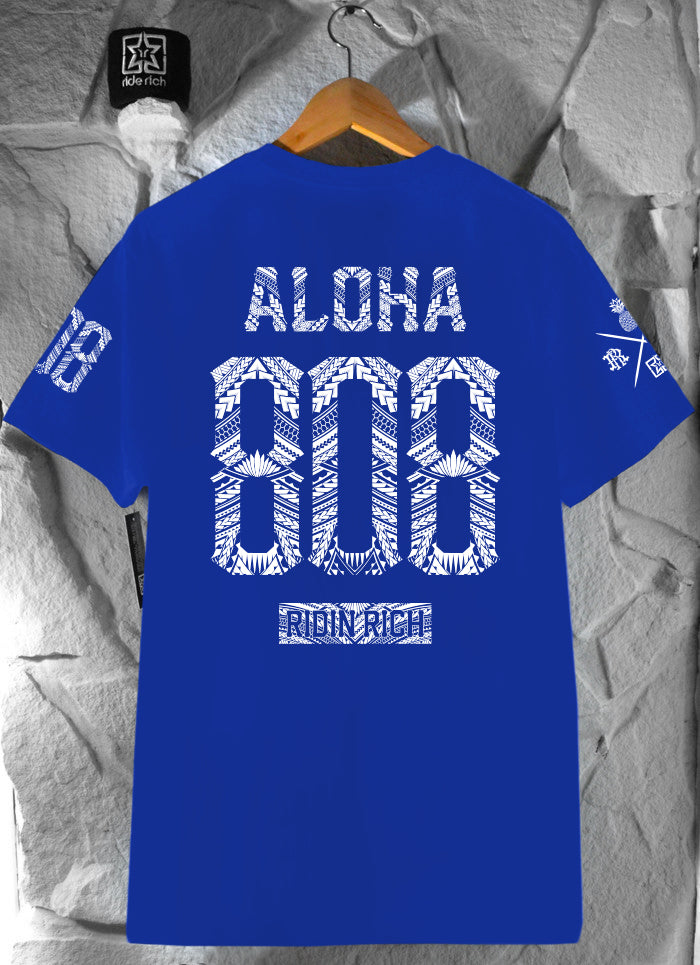 Home Grown 808 Edition Tee {Blue}