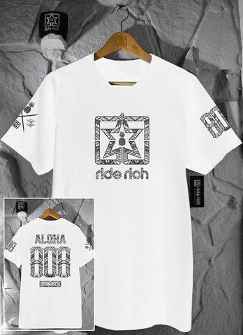 Home Grown 808 Edition Tee {White}