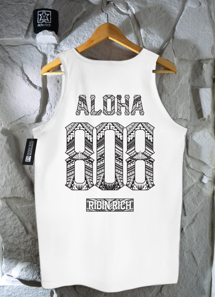 Home Grown 808 Edition Tank {White}