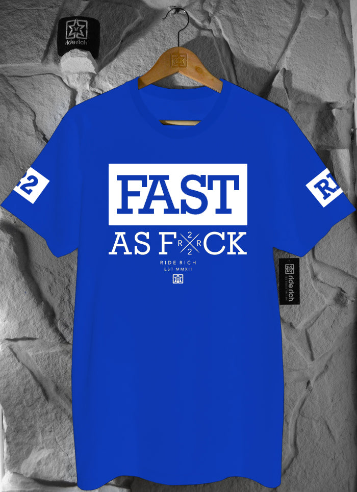 Been Fast Tee {Blue}