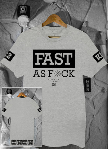 Been Fast Tee {Heather Grey}