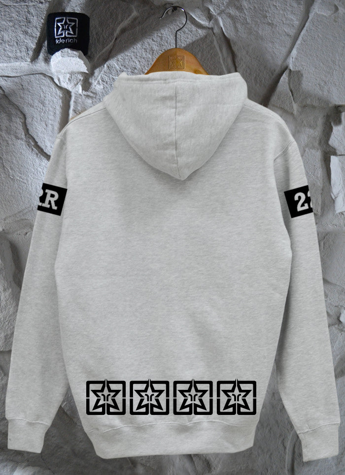 Been Fast Pullover Hoodie {Heather Grey}