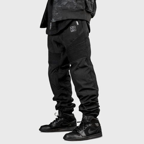 Scarboro™ Softshell Armoured Joggers {Black}