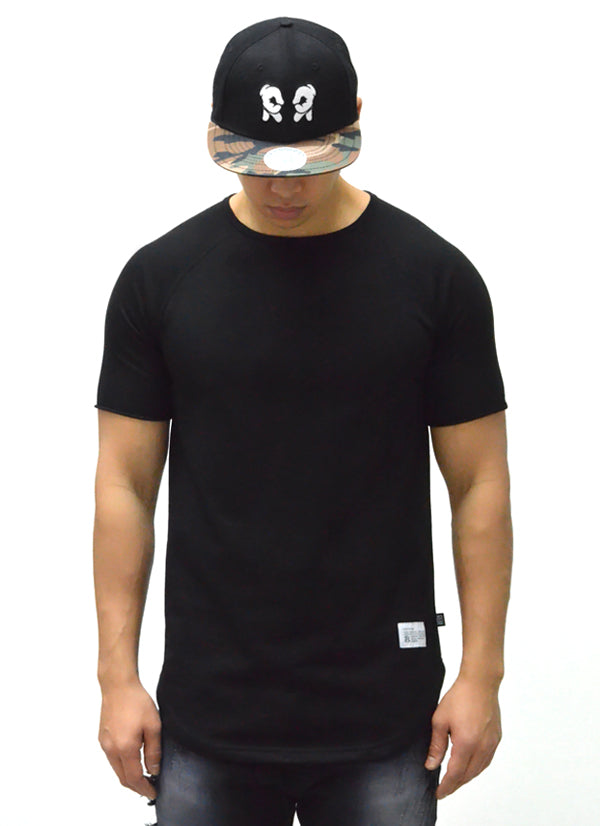 Blank Scoop Tee {Black} 1