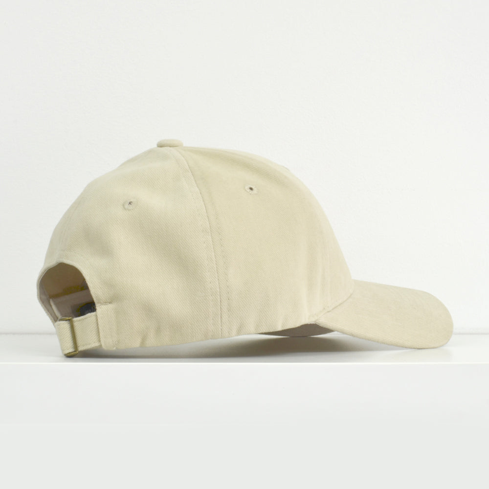 I Love Riding Khaki Dad Hat View 2 - Motorcycle Hat