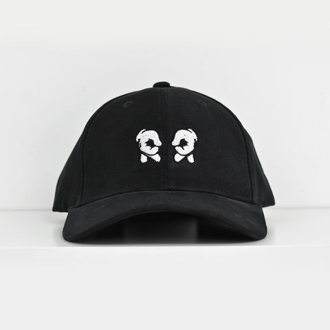 Rep Life On Two Black Dad Hat View 1 - Motorcycle Hat