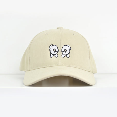 Rep Life On Two Khaki Dad Hat View 1 - Motorcycle Hat