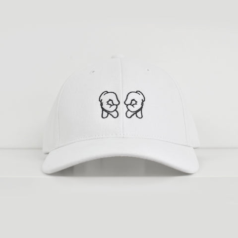 Rep Life On Two White Dad Hat View 1 - Motorcycle Hat