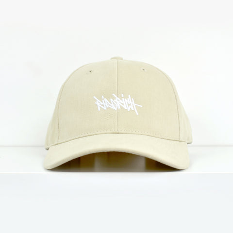 Ride Rich Tag Khaki Dad Hat View 1 - Motorcycle Hat