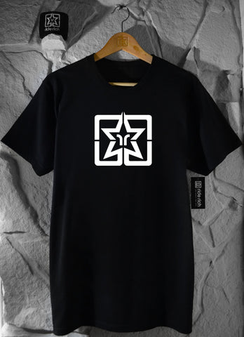 RR Emblem Tee Black View 1 - Motorcycle T-shirt