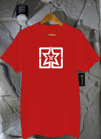 RR Emblem Red Tee View 1 - Motorcycle T-shirt