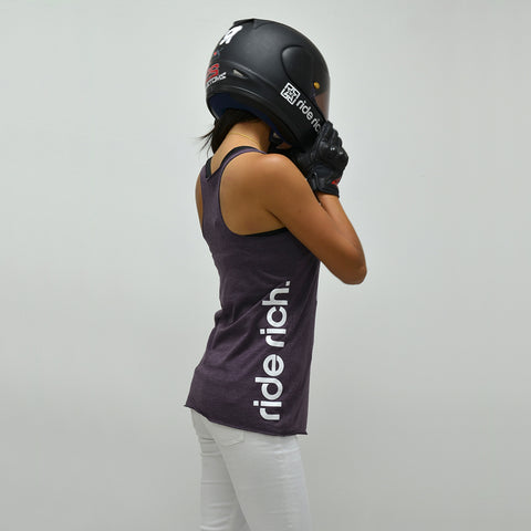 RR Emblem Racerback Tank {Purple Heather}