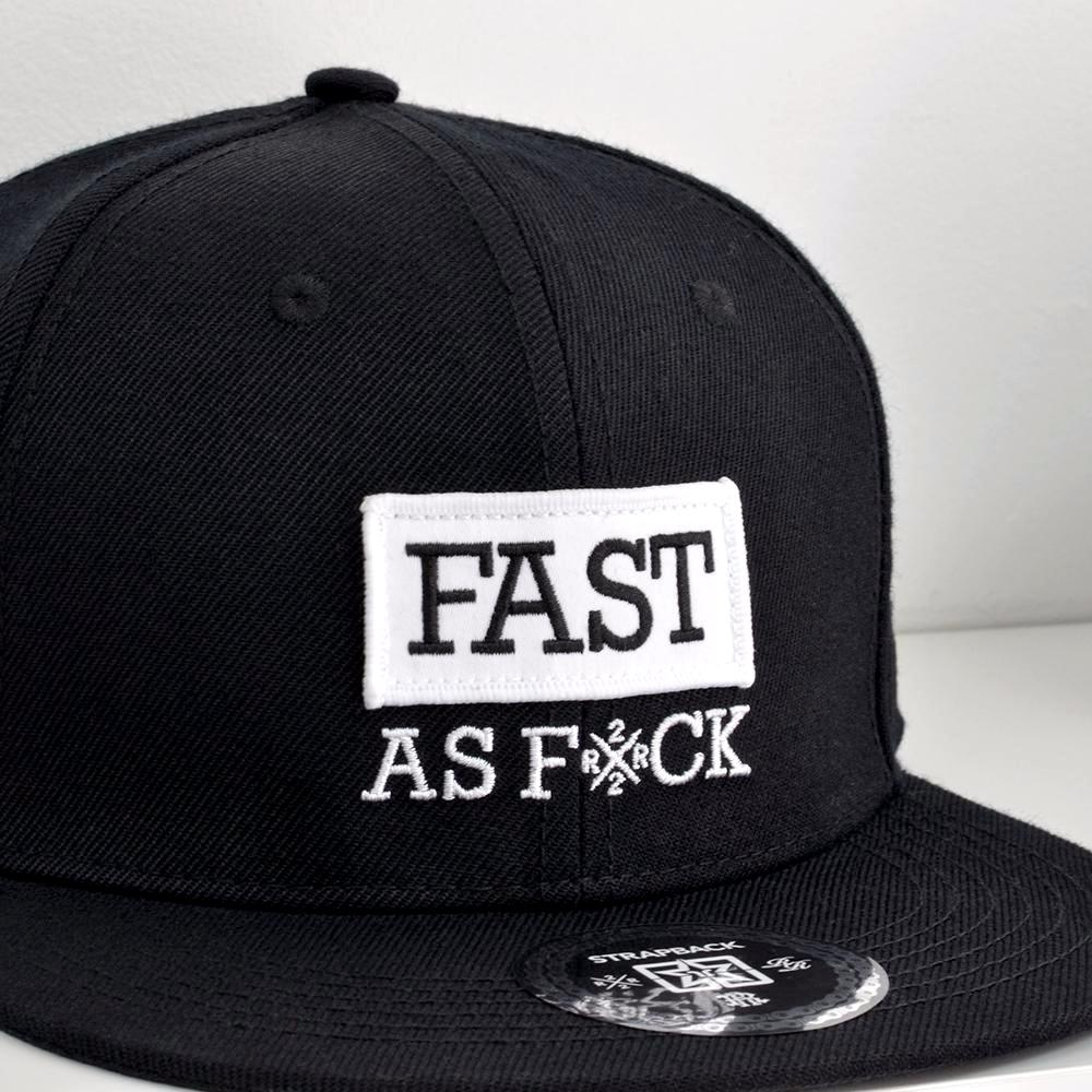 Been Fast Strapback View 5 - Motorcycle Hat