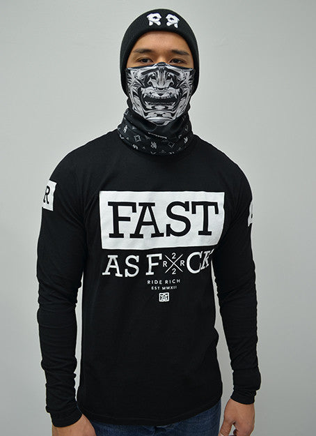 Been Fast Long Sleeve Tee View 2 - Motorcycle T-shirt