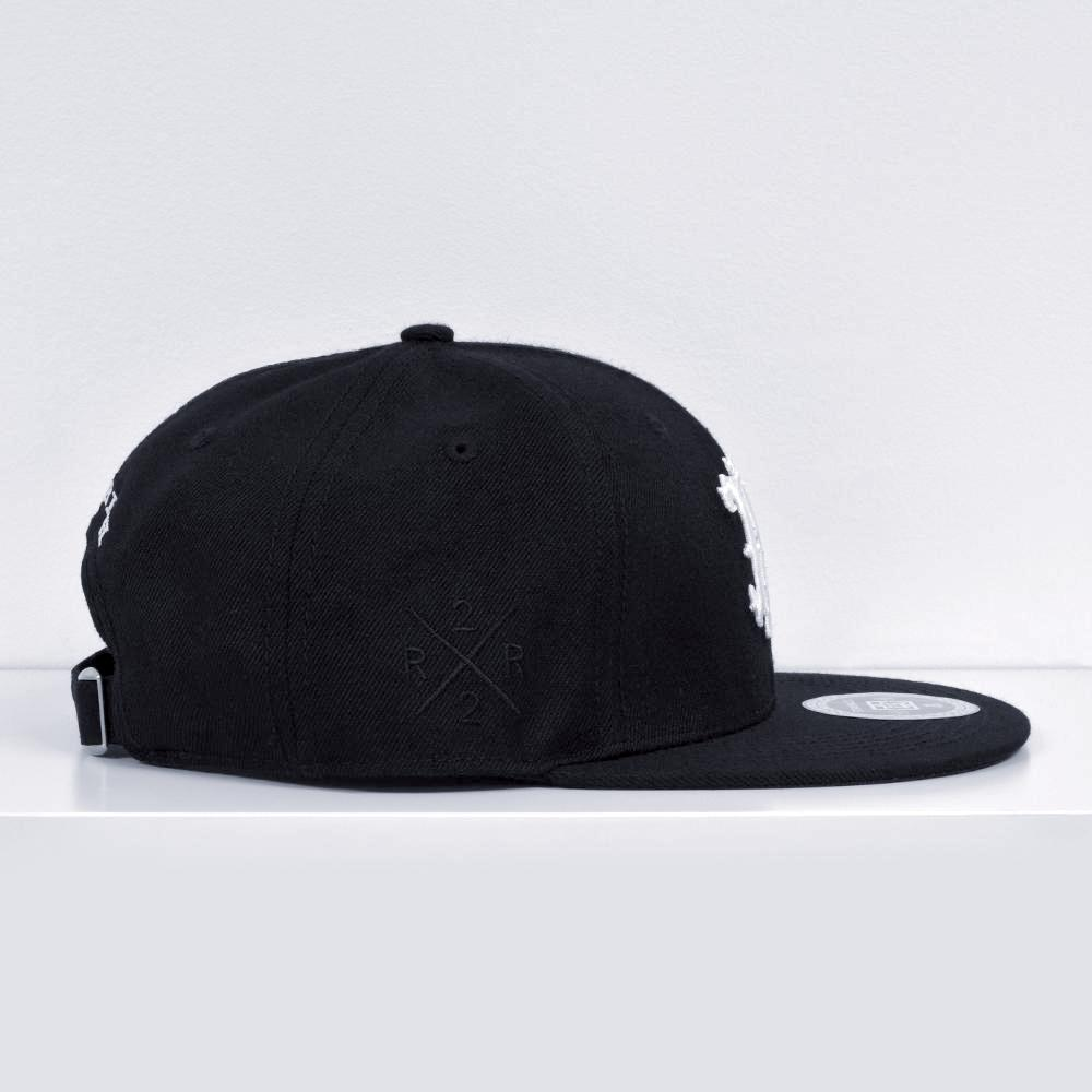 RR Filigree Strapback View 4 - Motorcycle Hat