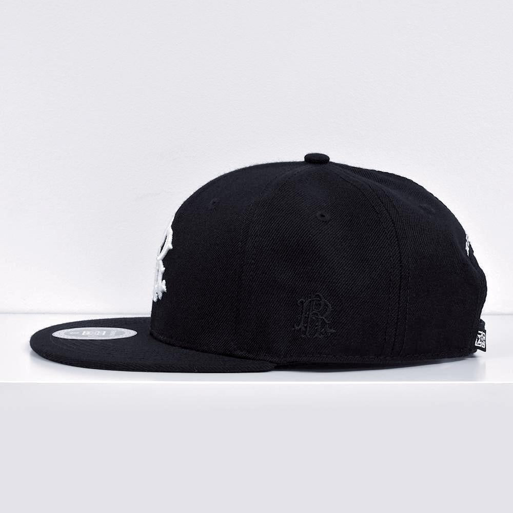 RR Filigree Strapback View 2 - Motorcycle Hat