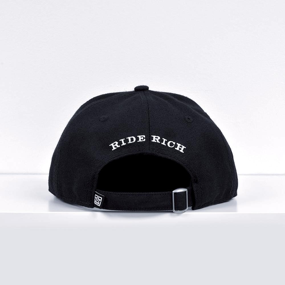 RR Filigree Strapback View 3 - Motorcycle Hat