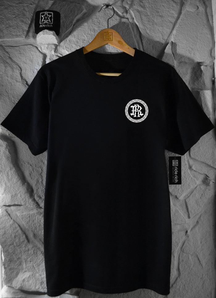 RR Filigree & Chains Tee {Black}