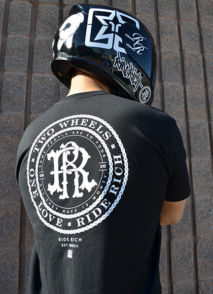 RR Filigree & Chains Tee View 5 - Motorcycle T-shirt