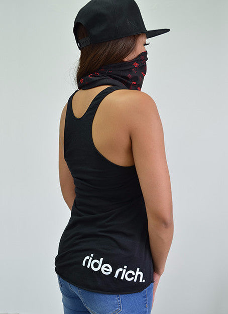 Riding Is My First Love Racerback Tank View 2 - Motorcycle Racerback Tank