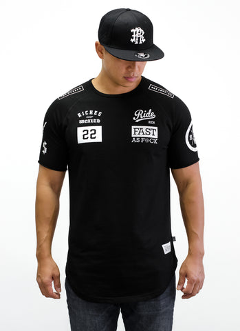 RR GP Scoop Tee {Black}