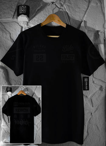 RR GP Tee {Black on Black}