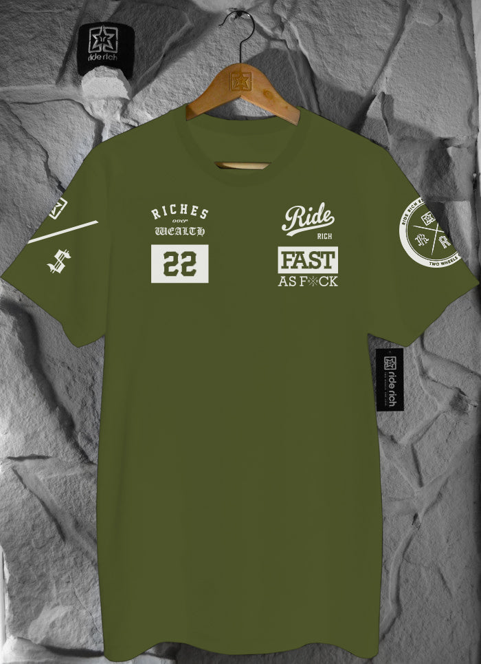 RR GP Tee {Army Green}