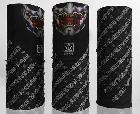 Hannya Rich Wrap View 1 - Motorcycle Accessories
