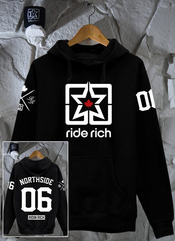Ride Rich Home Grown Pullover Hoodie