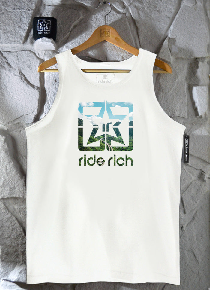 Highway to Heaven Tank {White}