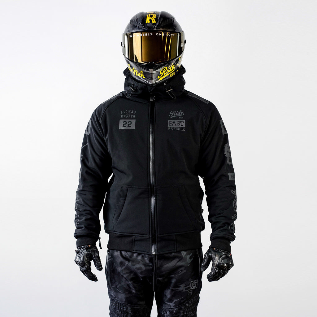 Regency™ Armoured Softshell Hooded Jacket {RR GP}