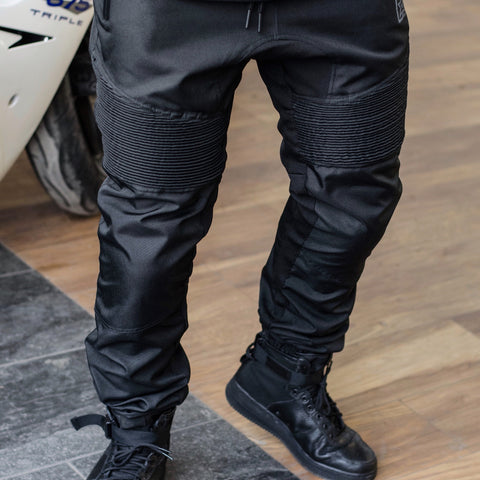 Scarboro™ Textile Joggers {Black} [PRE-ORDER] Limited Time