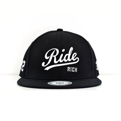 RR Squad Snapback {White on Black}