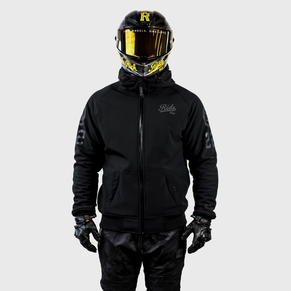 Regency™ Armoured Softshell Hooded Jacket {Squad}