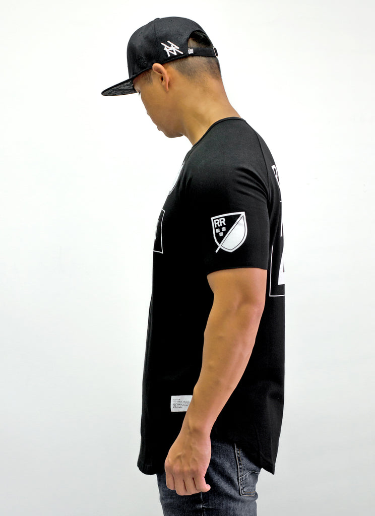 Mad Official Scoop Tee {Black}