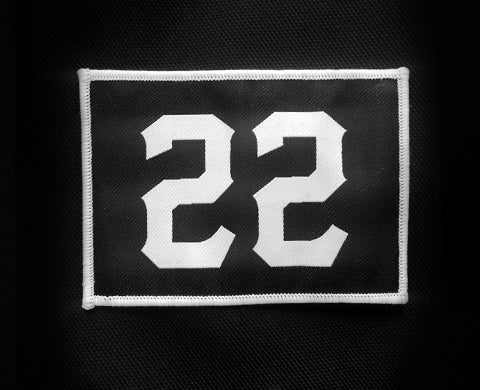 Ride Rich 22 Patch - Motorcycle Accessories