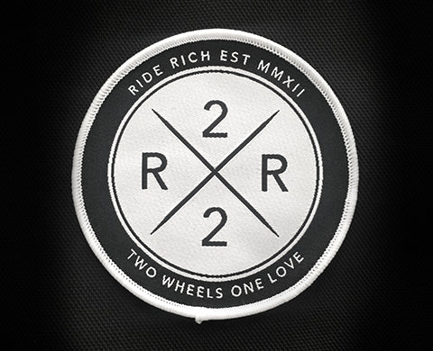 RR Official Seal Patch - Motorcycle Accessories