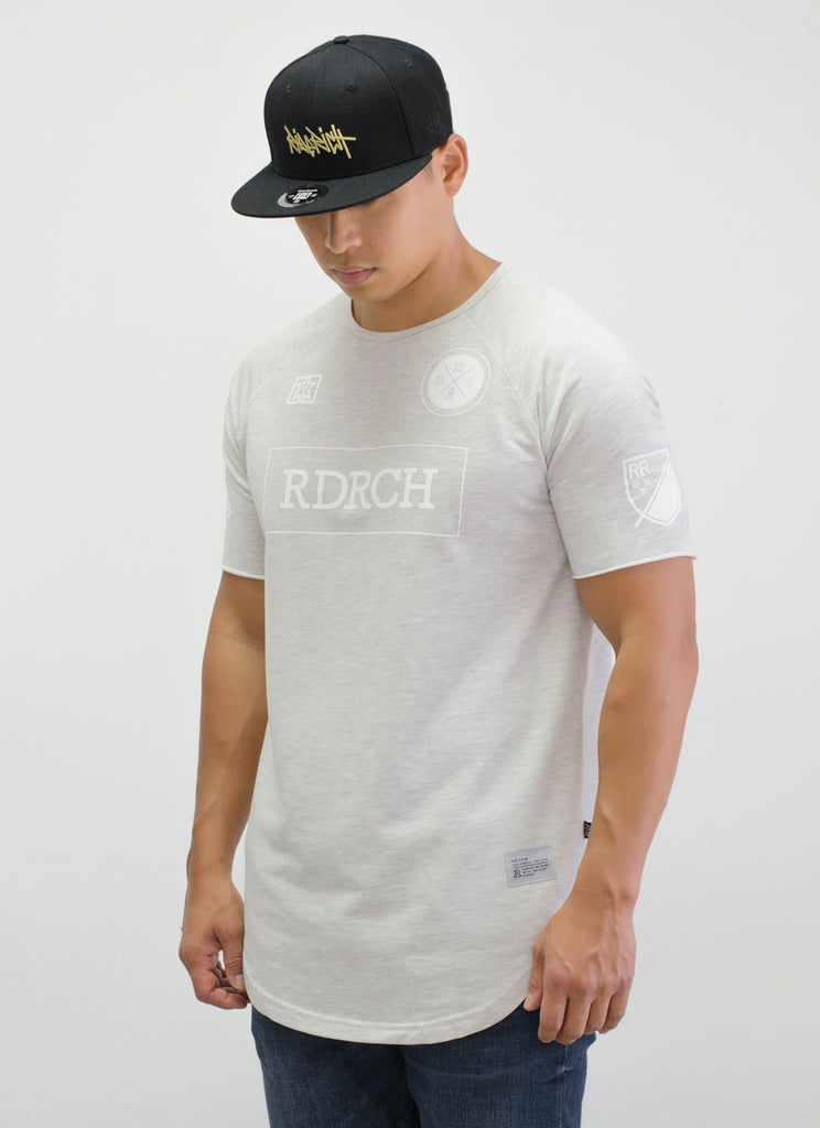 Mad Official Scoop Tee {White Heather}