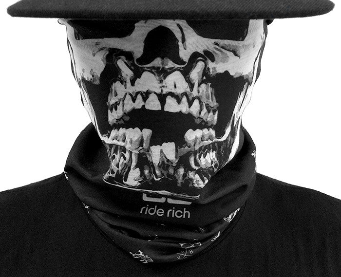 10% OFF Mutilated Skull Rich Wrap
