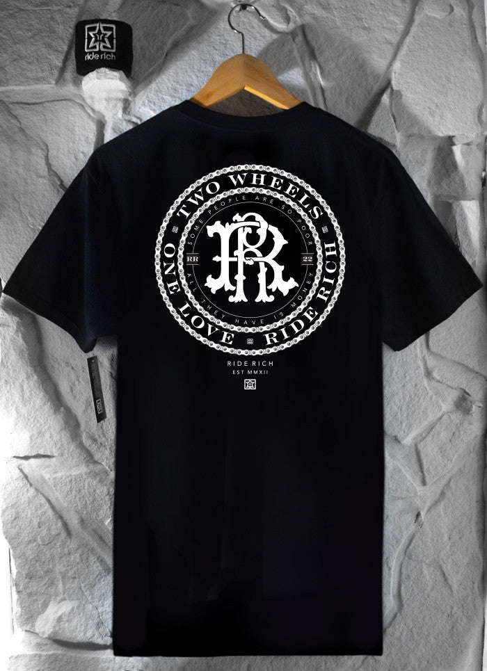 RR Filigree & Chains Tee View 3 - Motorcycle T-shirt
