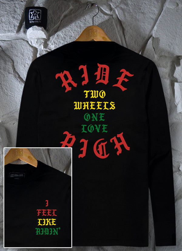 All Day Every Day Long Sleeve Tee View 1 - Motorcycle T-shirt