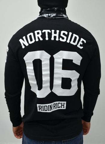 Ride Rich Home Grown L/S Tee {Black}